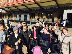 Une partie du cabinet CDMF Avocats au retour du séminaire SECIB d'Amsterdam