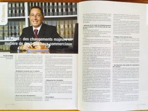 """Une publication de Jean-Luc MEDINA dans le dernier numéro de la revue 'Culture et Droit""""."""