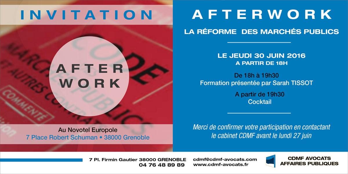 Afterwork CDMF Avocats Affaires publiques